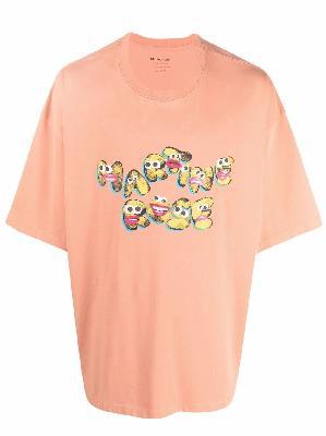 Martine Rose logo-graphic T-shirt