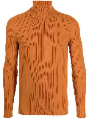 Martine Rose ribbed-knit turtleneck jumper