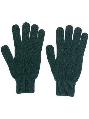 PAUL SMITH knitted fitted gloves