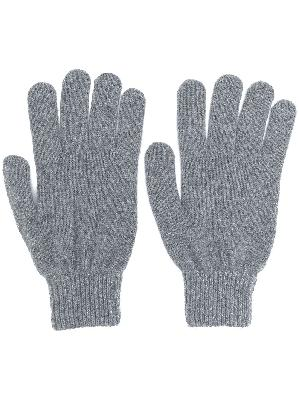 PAUL SMITH fitted knitted gloves