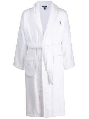 Polo Ralph Lauren logo embroidered robe