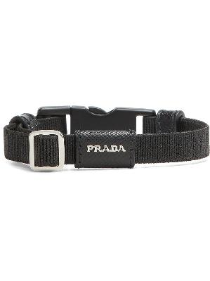 Prada buckled logo bracelet