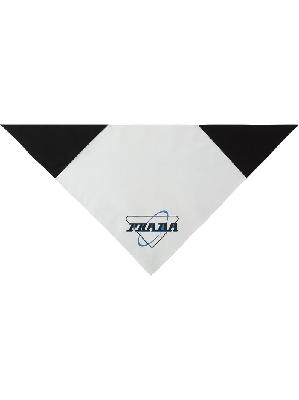 Prada Oxford logo-print scarf