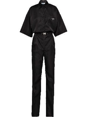 Prada Re-Nylon short-sleeved jumpsuit