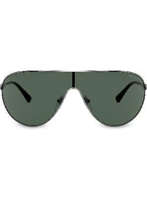 Prada Eyewear mask effect sunglasses
