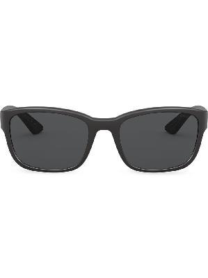 Prada Eyewear Linea Rossa rectangular-frame sunglasses