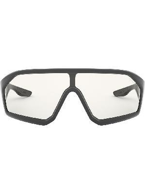 Prada Eyewear Linea Rossa Impavid mask-frame sunglasses