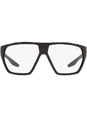 Prada Eyewear wraparound-frame glasses