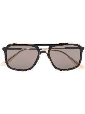 Prada Eyewear tortoiseshell aviator-frame sunglasses