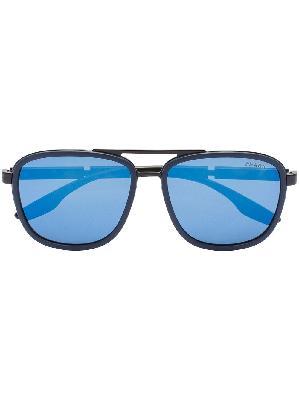 Prada Eyewear Linea Rossa aviator-style sunglasses