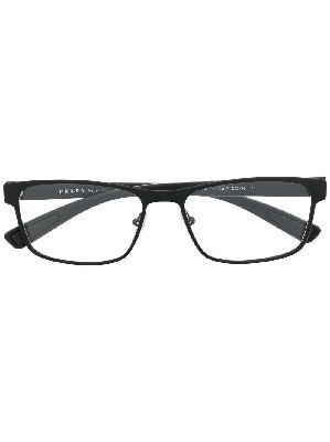 Prada Eyewear Linea Rossa rectangle-frame glasses