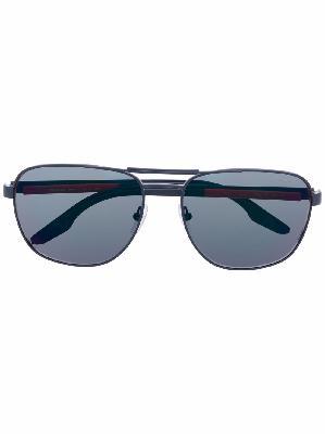 Prada Eyewear Linea Rossa Stubb polarised-lens sunglasses
