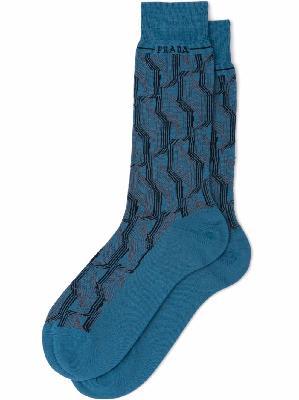Prada superfine wool ankle socks