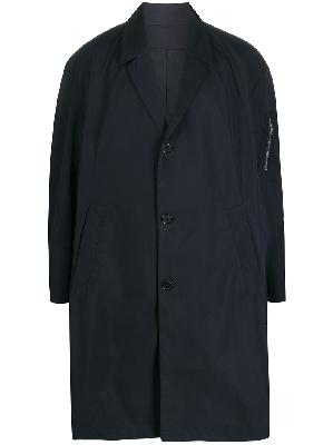 Random Identities button-down parka coat