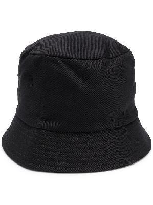 Random Identities mosquito-print bucket hat