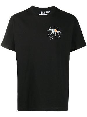Random Identities inset print T-shirt
