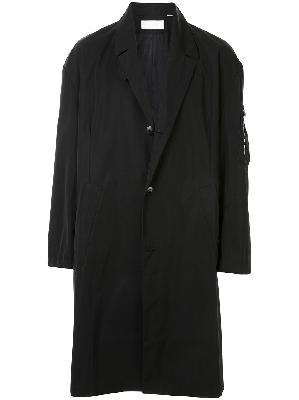 Random Identities single breasted technical coat