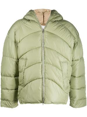 Random Identities oversized padded coat