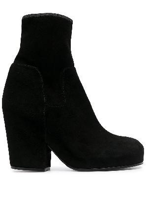Random Identities chunky-heel ankle boots