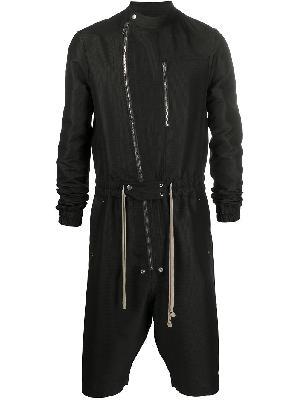 Rick Owens zip-through jumpsuit