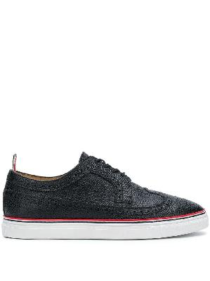 Thom Browne contrast cupsole longwing brogues