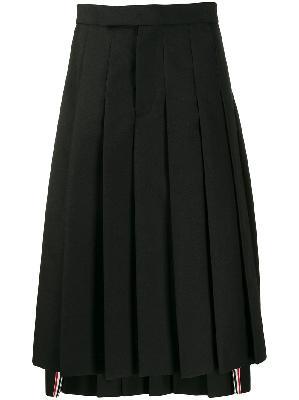 Thom Browne mohair wool pleated skirt