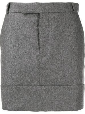Thom Browne wool mid-thigh skirt