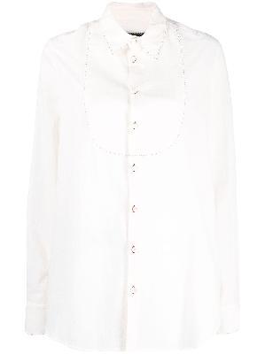 Uma Wang contrast-stitch shirt