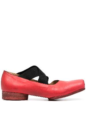 Uma Wang square-toe ballerina shoes