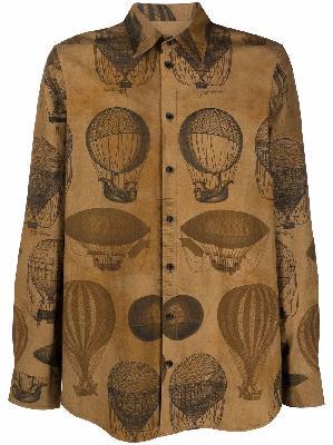 Uma Wang air balloon print shirt