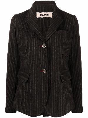 Uma Wang single-breasted pinstripe blazer