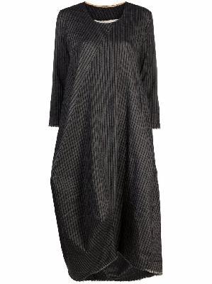Uma Wang pinstripe midi dress