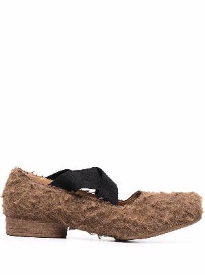 Uma Wang textured-finish loafers