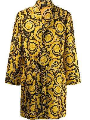 Versace Barocco print dressing gown