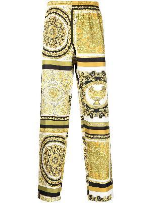 Versace Baroque print pajama trousers