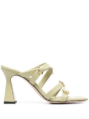 Wandler Lara leather sandals