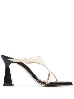 Wandler Feline lambskin sandals