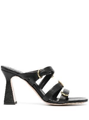 Wandler Lara sculpted heel sandals