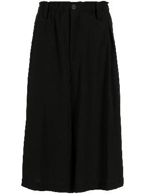 Yohji Yamamoto high-waisted midi skirt