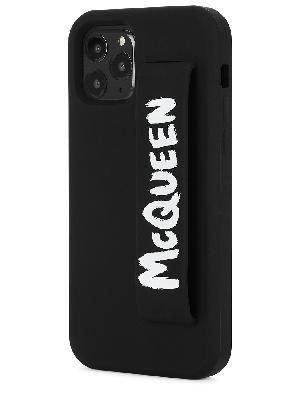 Black logo rubber iPhone 12 Pro case