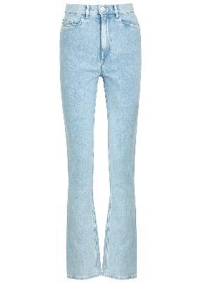 Aster light blue straight-leg jeans