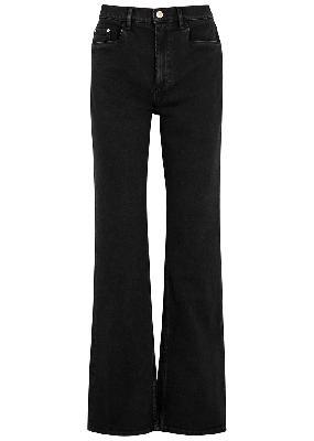 Daisy black bootleg jeans