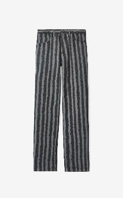 KENZO Striped jeans