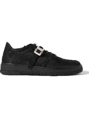 1017 ALYX 9SM - Buckle-Embellished Satin Sneakers