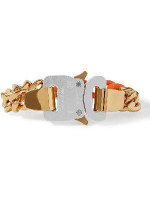 1017 ALYX 9SM - Gold-Tone and Enamel Bracelet