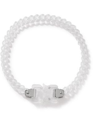 1017 ALYX 9SM - Silver-Tone and Nylon Necklace