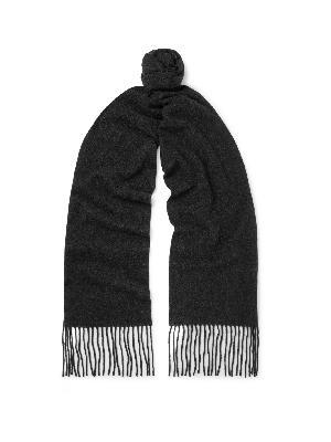 Acne Studios - Canada Skinny Fringed Mélange Wool Scarf