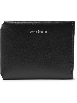 Acne Studios - Logo-Print Leather Trifold Wallet