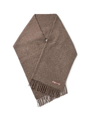 Acne Studios - Oversized Fringed Wool Scarf