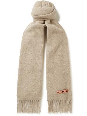 Acne Studios - Canada Fringed Wool Scarf